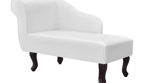 diván clásico para hipnosis con piel blanca