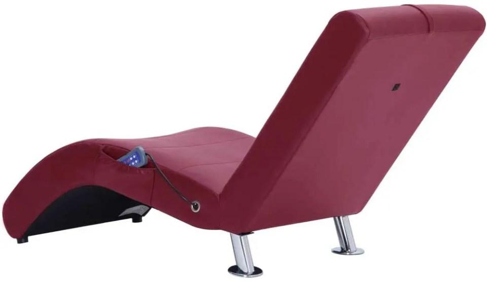 diván para hipnosis calefactado con masaje
