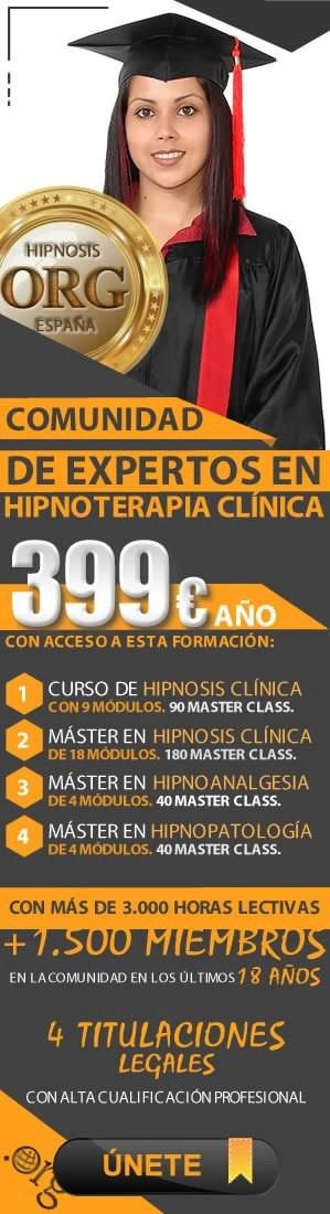 comunidad de expertos en hipnoterapia clínica