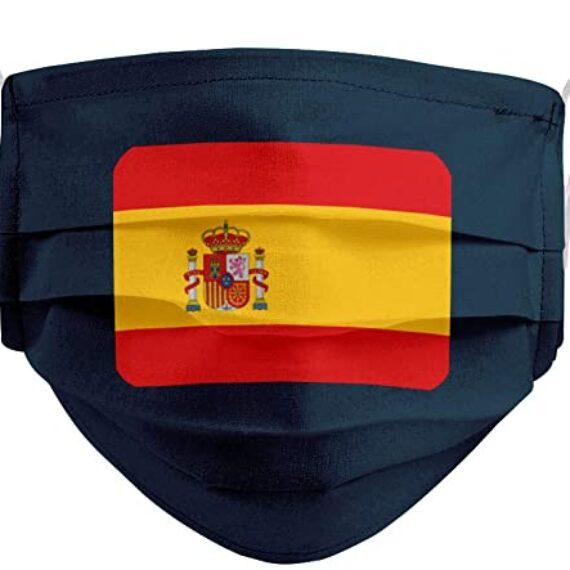 mascarilla bandera grande españa