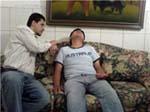 Paciente bajo hipnosis
