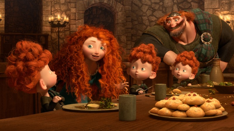 Disney Pixar Brave Movie