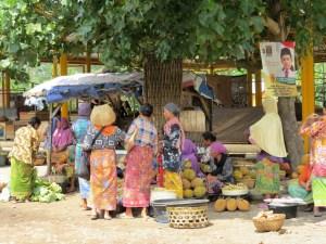 Traditionele markt Lombok