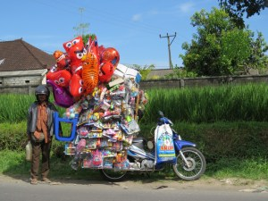 Verkoper-in-Bali