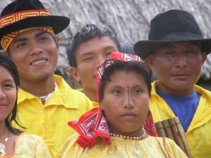 Kuna Indianen op de San Blas Panama
