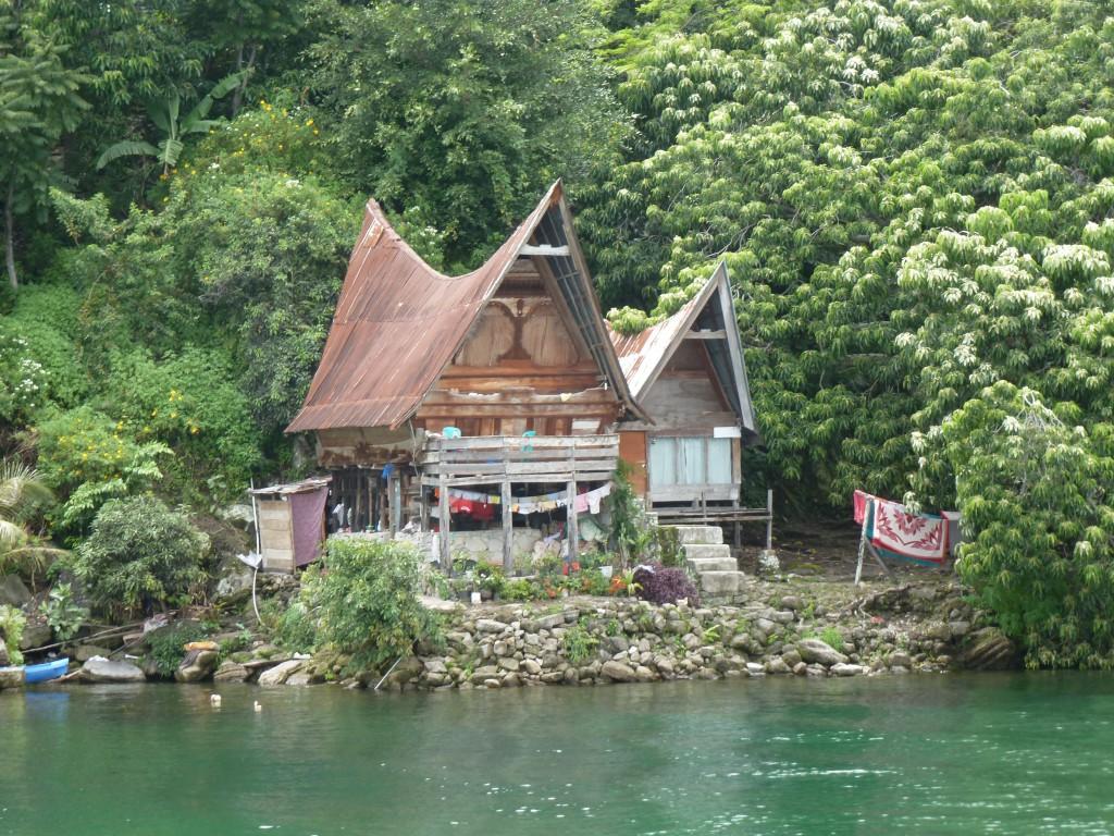 Traditioneel-huis-Sumatra