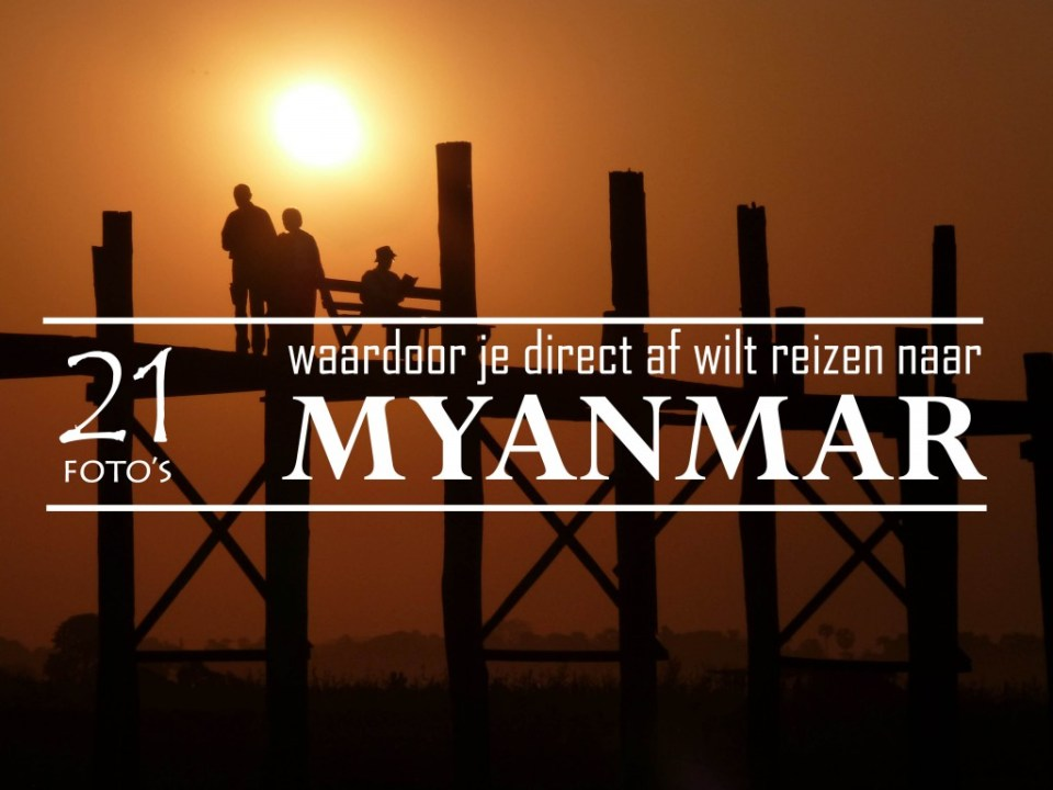 Myanmar in foto's