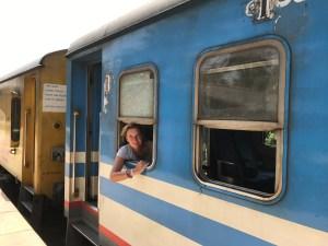 reizen met de trein door Sri Lanka