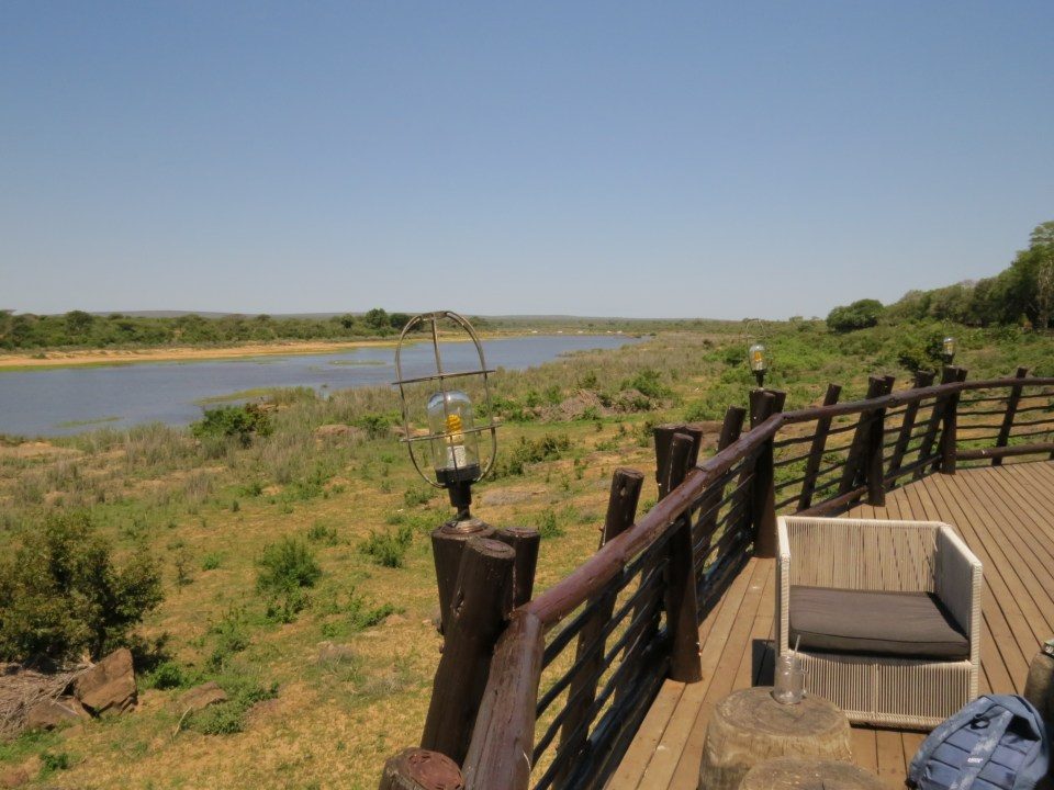 Kamperen in Lower Sabie Krugerpark Zuid-Afrika