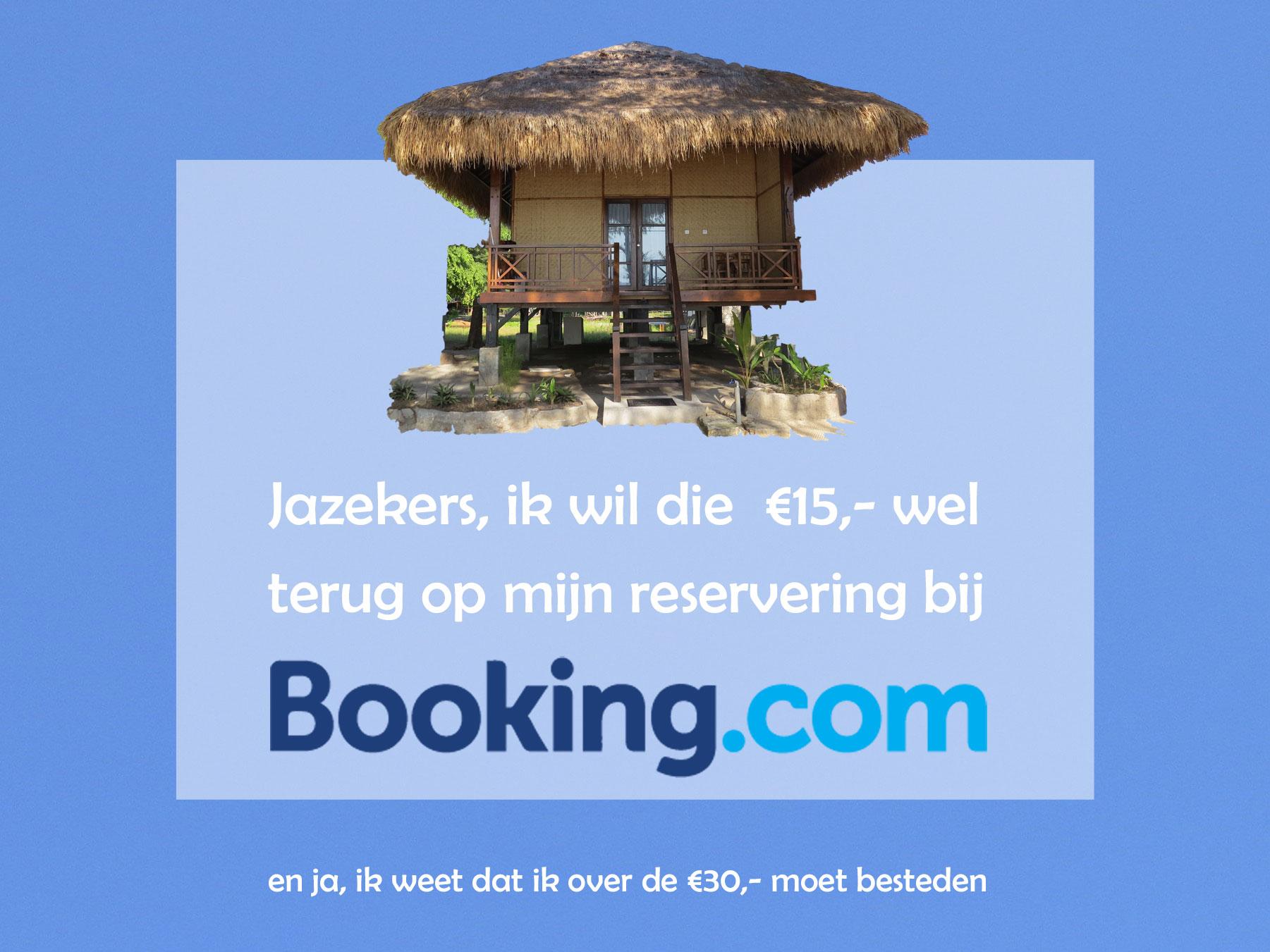 Korting booking accommodatie