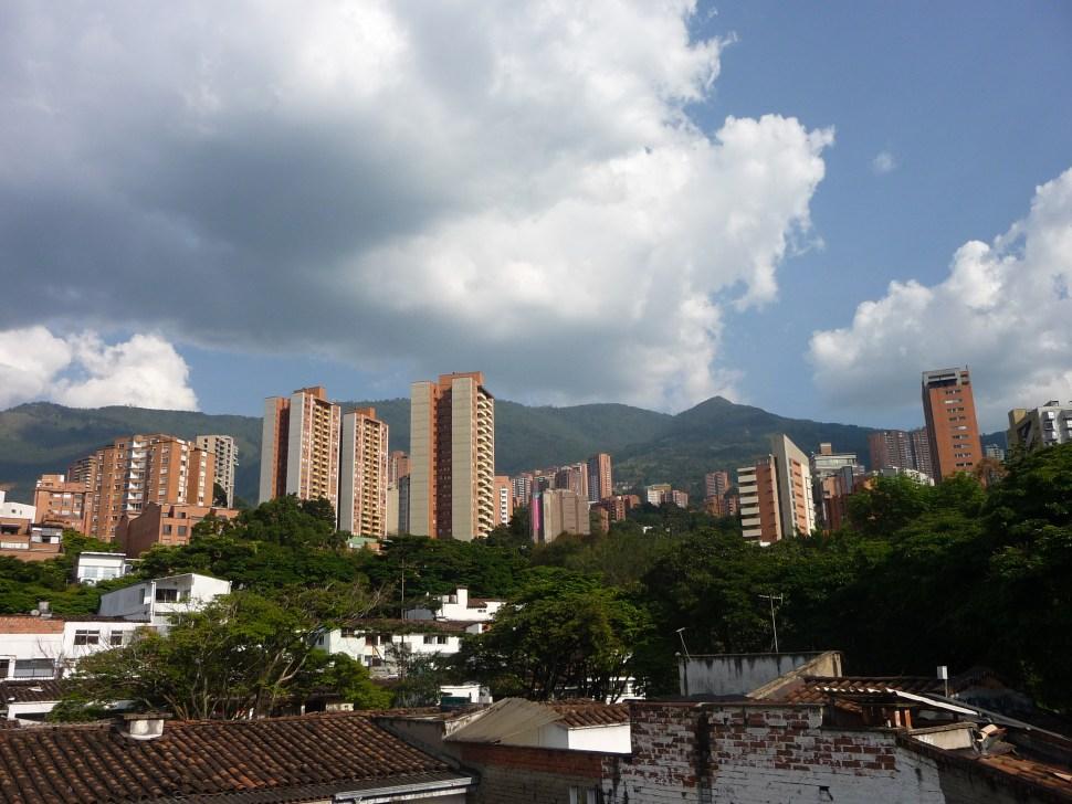 Skyline van Medellin Colombia