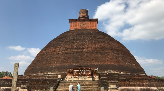 Anuradhapura vs Polonnaruwa