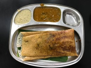 Dosa Sri Lankees eten