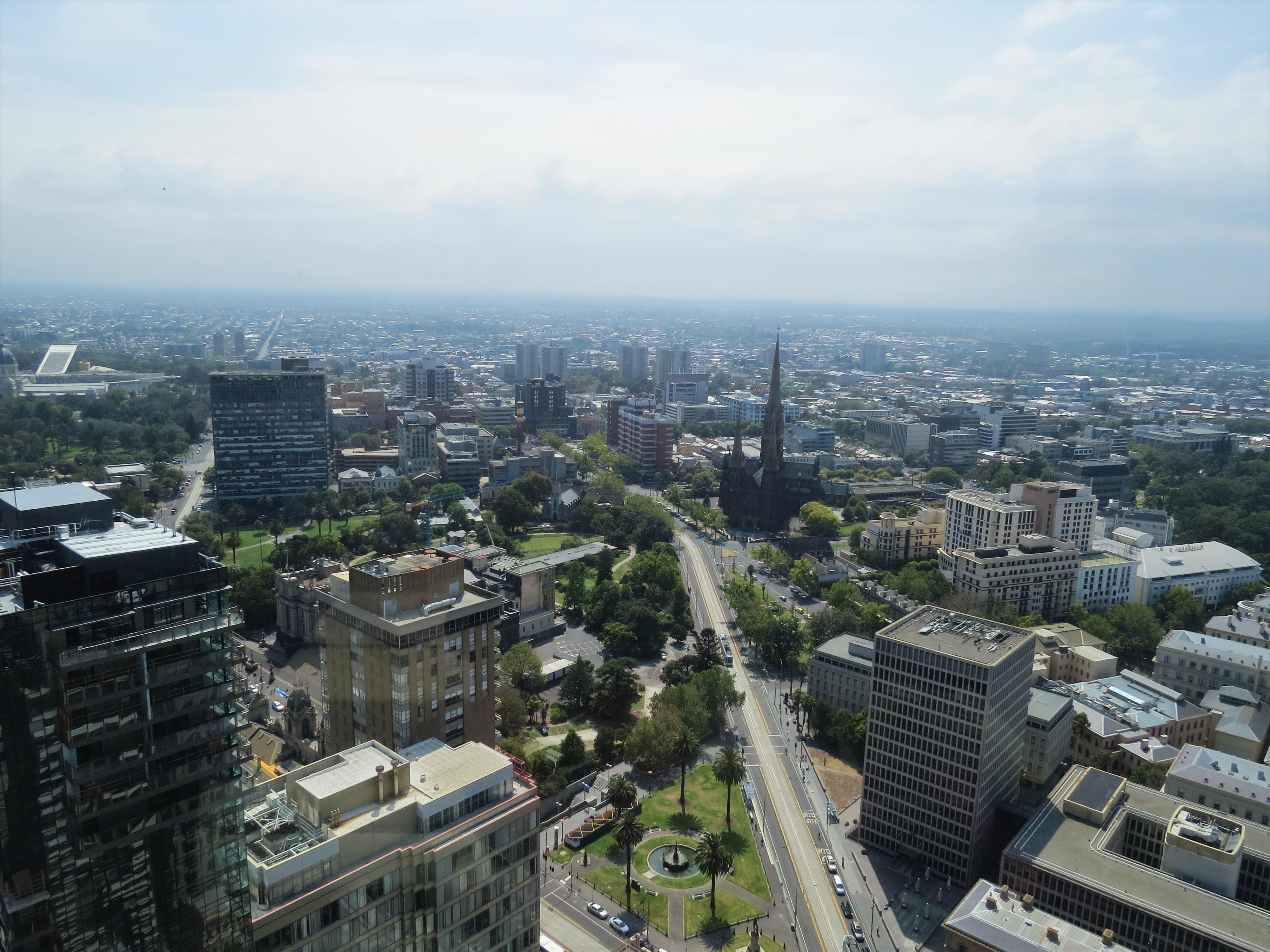 Uitzicht van Sofitel Melbourne Australie