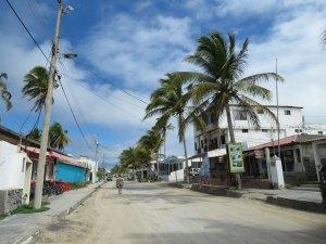 Straatbeeld Isabela Island Galapagos