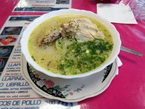 Typische gerechten Ecuador