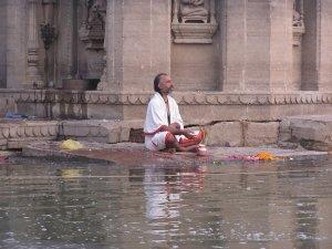 Boottochtje op de Ganges Varanasi India
