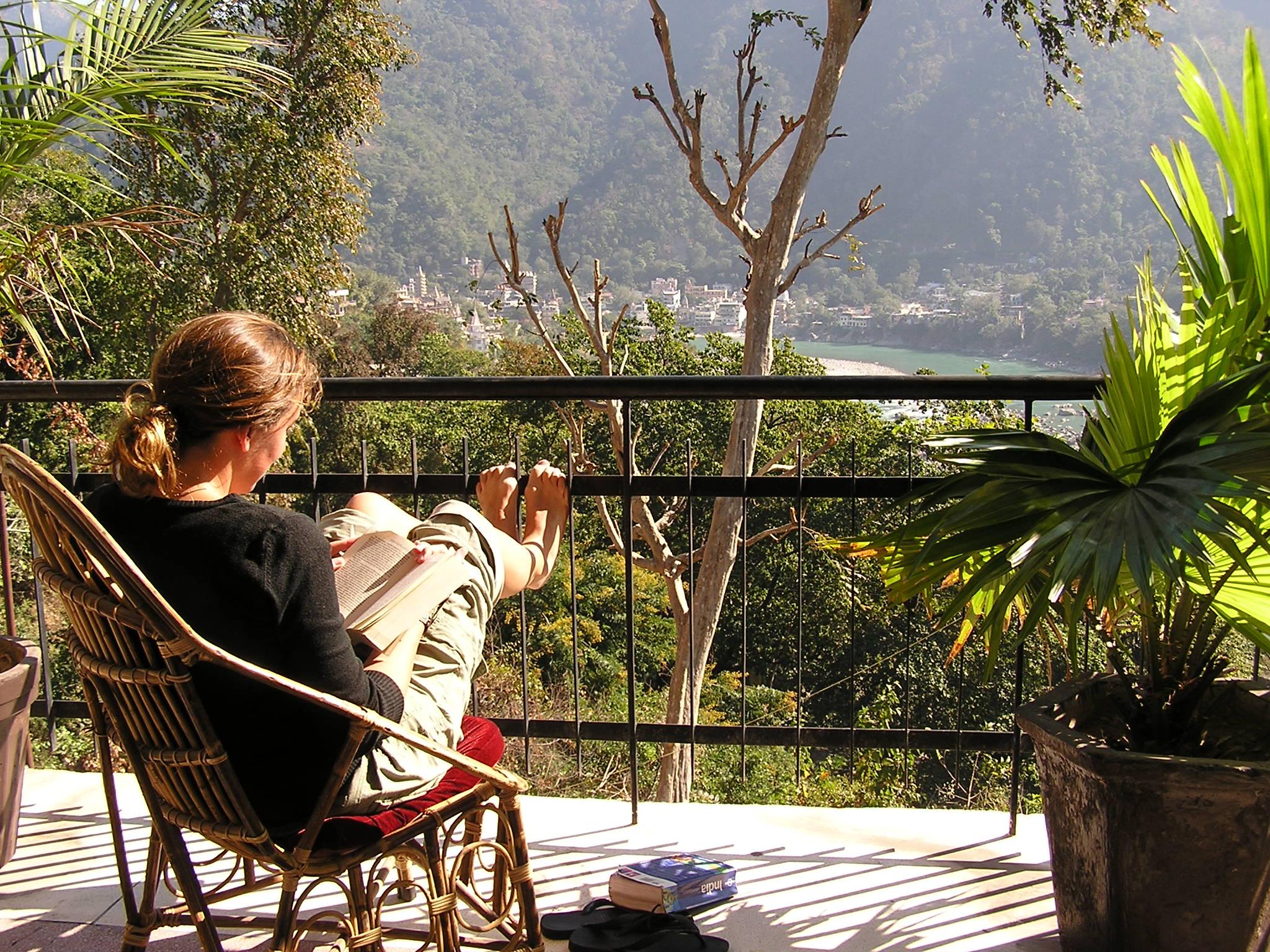 View van hotel in Rishikesh India