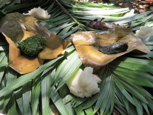 Eten in Nam Ha NP Laos