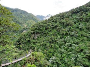Devil's Cauldron Banos Ecuador