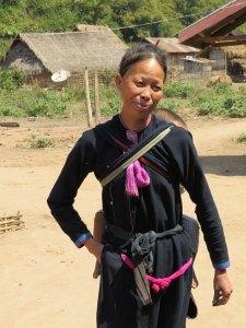 Lanten tribe Nam Ha NP Laos