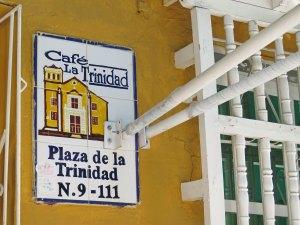 Plaza de la Trinidad Getsemani Cartagena Colombia