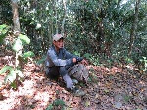 Thong onze gids in Nam Ha NP Laos