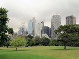 Botanische tuinen Sydney Australie