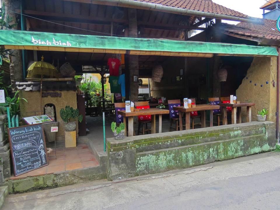 Biah Biah restaurant Ubud Bali