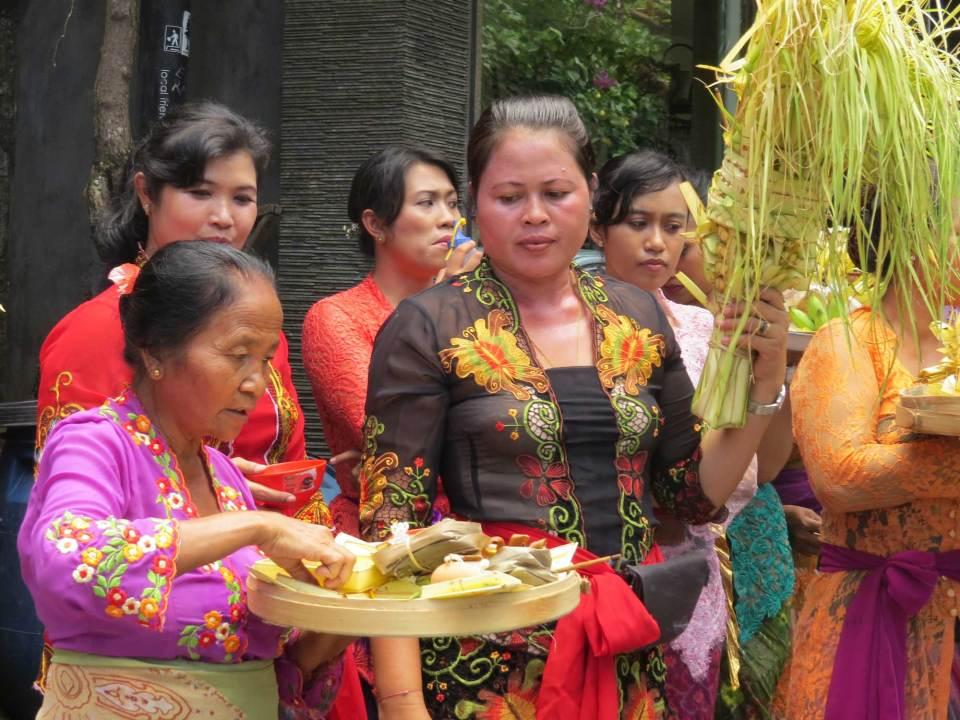 Ceremonie Ubud Bali