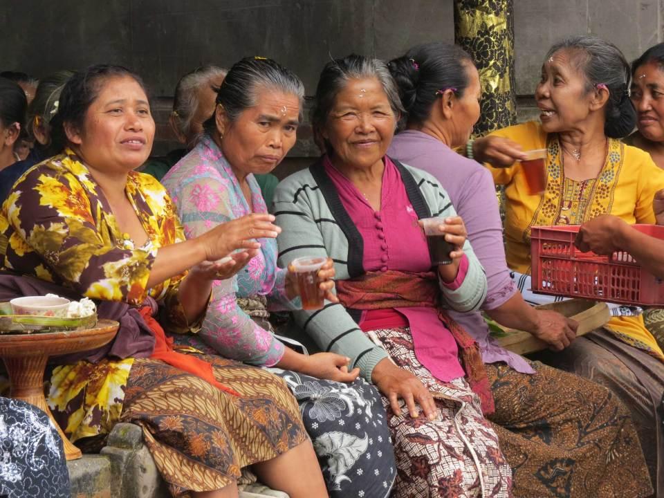 Maak praatje met lokale bevolking Bali