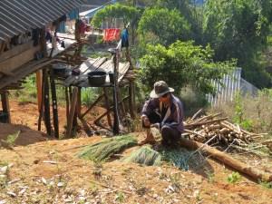 Dorpje bij Mae Salong Thailand