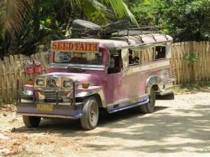 Jeepney transport Bohol Filipijnen