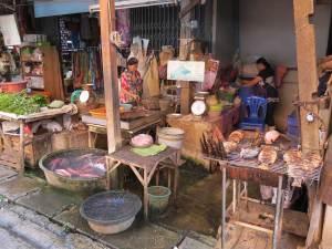 Lokale markt Chiang Mai Thailand