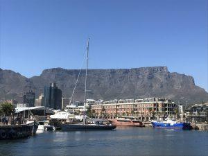 Uitzicht vanaf Den Anker Kaapstad Zuid-Afrika
