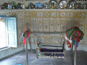 Huisje regio Kutch Gujarat India