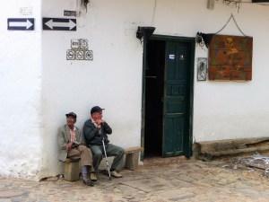 Leuke oude mannetjes villa de leyva colombia