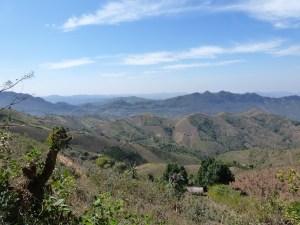 Omgeving Kalaw Myanmar