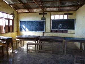 Schooltje dorp bij Kalaw Myanmar