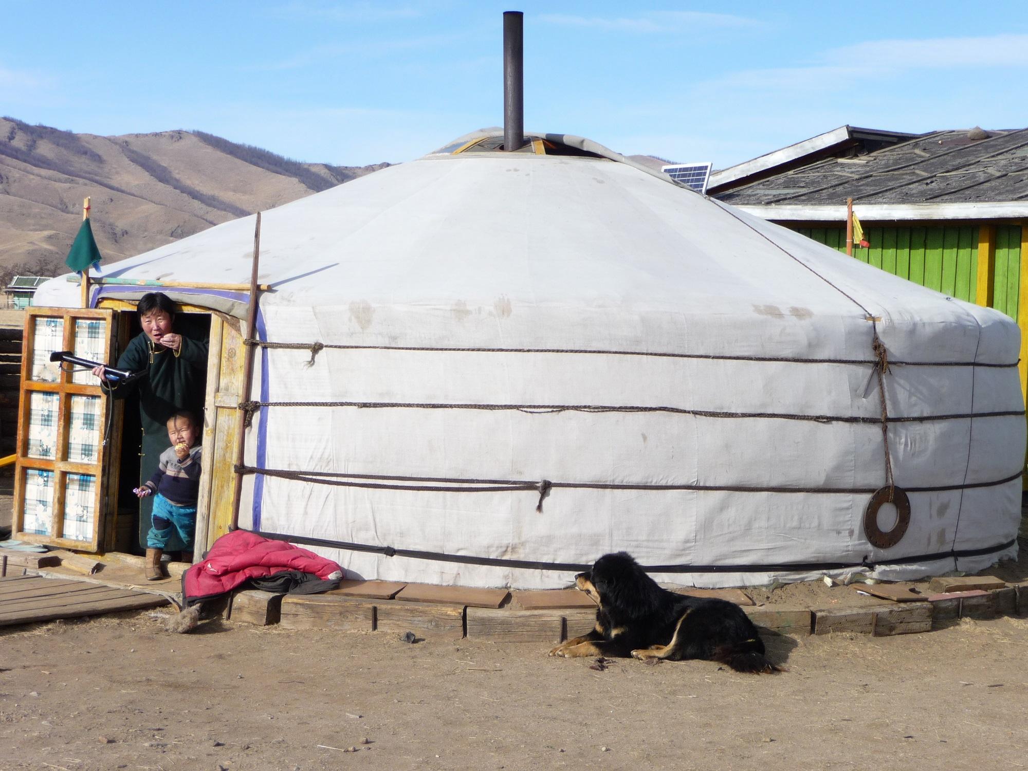 Gertent Mongolië