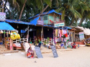 shoppen in Palolem Goa India