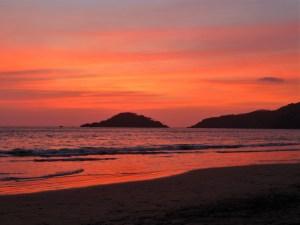 Zonsondergang Palolem Goa India