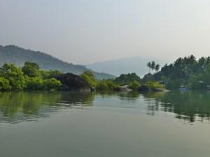 backwaters Palolem Goa India