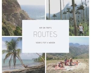 routes van 3 tot 4 weken van Hip on Trip