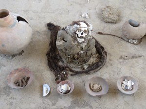 Mummies van Chauchilla Nazca Peru