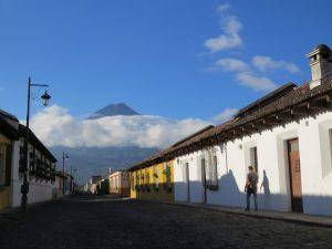 straatbeeld Antigua Guatemala