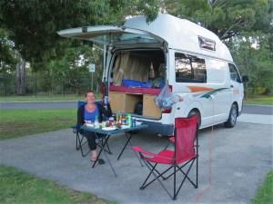 Katoomba Falls Blue Mountain Camping Australië