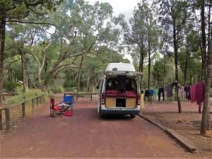 Wilpena Pound Camping Flinders Ranges Australië