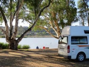 Mooie campings tussen Sydney en Adelaide Australië
