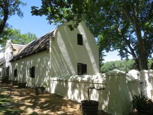 Nederlandse bouwstijl Boschendal Winery Zuid-Afrika